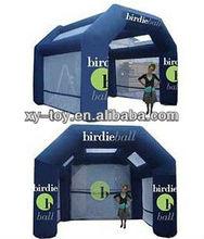 Golf inflatables,inflatable golf practice net,birdie ball exercise inflatable door