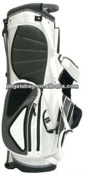 white golf bag with shoe compartment,design your own golf bag