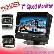 "High quality 7"" Quad function Van back up camera kit"