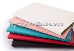 colors fashion new folding stand leather case for ipad mini