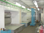 Dust free spray painting booth