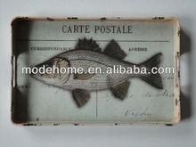 2013 New Cheap Fish Design Decorative Tray