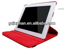 PU leather case for ipad leather case