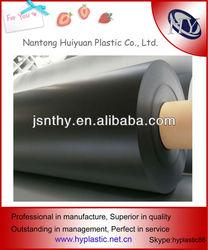 Soft Black Nontoxic PVC Plastic Sheet