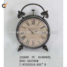 2013 antique brass metal desktop clock