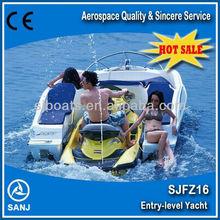 SANJ combined used life boats for sale matched with Yamaha,seadoo jet ski