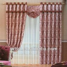 NEW! 2012 Hot Sale Jacquard Blackout Luxury room curtains valances