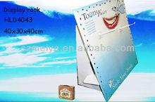 retail pop toothbrush cardboard display,display standee,toothbrush paper sidekick counter display