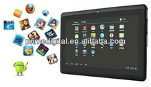 Dood quality Q88 Allwinner A13 7 inch Capacitive MID Android 4.1 Cheapest Tablet PC With Camera Wifi