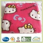 Printed Polar Fleece Blanket 2 Sides Brushed Fabric Polyester Fleece Sheet Warm and Soft Rug