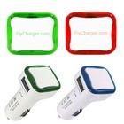 Light up Led Frame 5v 2a Mobile Phone Car USB Charger