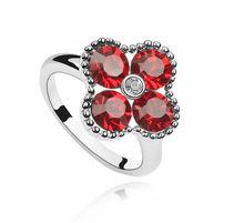 R402 2013 new personalised fashion ruby crystal ring