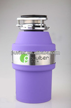 Blue 550W Electric Food Waste Disposer with High Lock CE,ISO9000