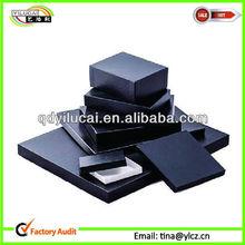 Square Rigid Box - Black Matt for post mail