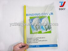 PVC binding cover plastic sheet