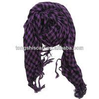 HB177 100 cotton voile muslim scarf men