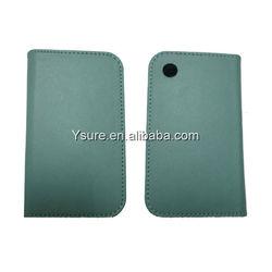 Light Blue Leather Case for Blackberry 9700