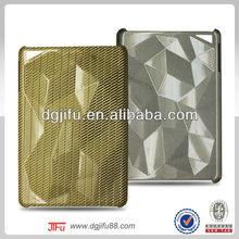 luxury carbon fiber case for iPad mini,for iPad mini diamond carbon fiber back case