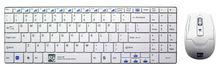 Rapoo Wireless, Scissors keyboard, Nano Receiver Mouse