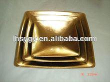Gold Plastic Bowl