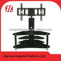 TV5106 modern glass lcd wall mount unit