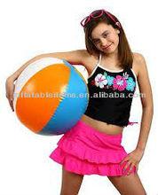 Fashion inflatable girls beach ball