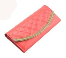 DT1017 2013 latest design contrast color purse and handbags
