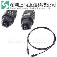 5 FT 5FT OPTICAL FIBER OPTIC TOSLINK DIGITAL AUDIO CABLE Black