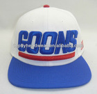 royal blue/ white Wool custom fashion six panel sanpback cap/sports cap/baseball cap fashion hat and headwear