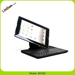 Best-seller rotatable wireless aluminum smart cover bluetooth keyboard case for iPad 2 3 4