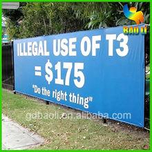 Banner printing advertising service