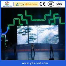 led video wall high brightness transparent screen curtain