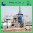 waste engine oil/ tyre oil DISTILLATION MACHINE to diesel with CE