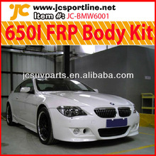 For BMW 6 Series 650I Fiberglass Body Kit Car Wide Bumpers