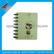 Spiral Notebook/mini office stationery set/cheap spiral notebooks