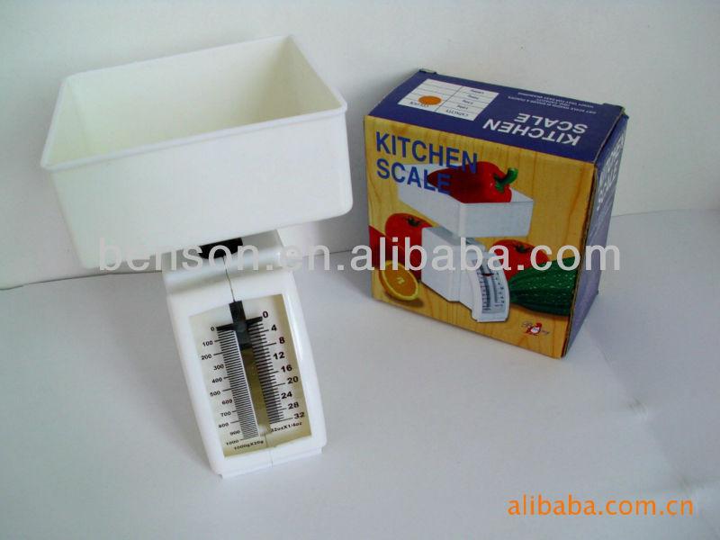 Kci-1 500g Mini Mechanical Kitchen Scale - Buy Mechanical Kitchen ...