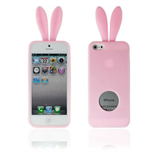 TOP Quality TPU Case Cartoon Rabbit For Iphone5g