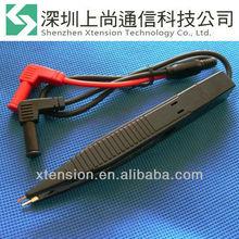 SMD Test Clip Meter Probe Multimeter Tweezer Capacitor