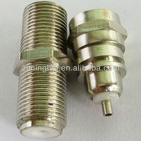 F Type RF connector : male plug&female to female jack