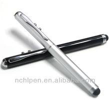Sensitive touch pen with laser &laser pen& touch pen