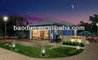 ISO9001 Prefabricate luxury Villa design