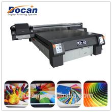 Docan Wide Format Digital UV Flatbed flex banner printing machine