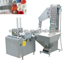 Induction seal liner wad inserting machine