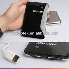 SINOTEK 2014 Newest 10000mah dual double USB emergency travel power bank