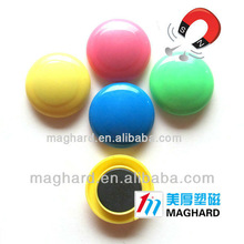 Ferrite magnet Colorful whiteboard absorption fridge magnet