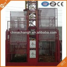 Economical SC100 1t single cage Building Construction Hoist for Internal and External Decoration