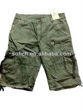 Men's Cargo Shorts with Belt