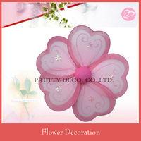 Heart shape stocking flower designs