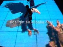 High brightness Led Video Dance Floor / Video dancing Floor