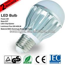 TUV CE RoHS IEC 4W E27 SMD 5630 LED Bulb Ushine Light Science And Technology Shanghai